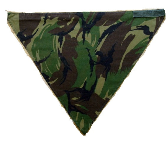 Dutch army surplus DPM camouflage neckerchief bandana scarf