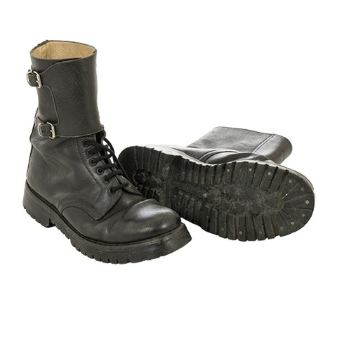 BRAND NEW Italian army military surplus leather combat assault boots