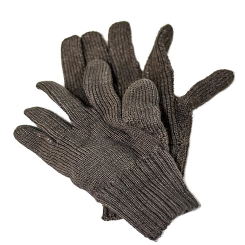 French army surplus  cold weather lined  mitts gloves w / separate trigger finger