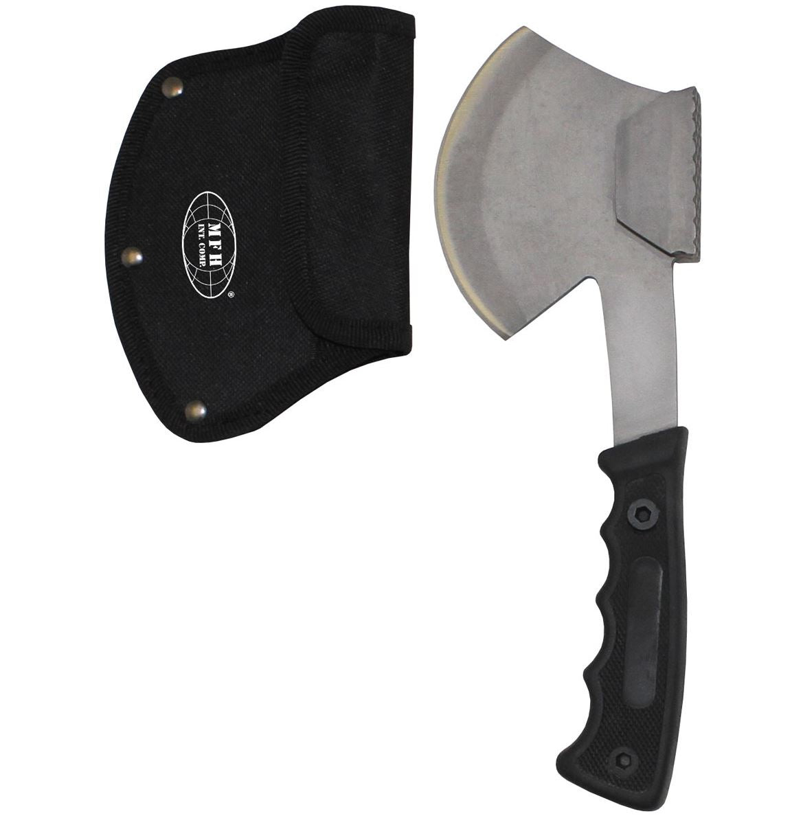 MFH Army Style Hammer Axe Multi Function Tool Hatchet and Cover