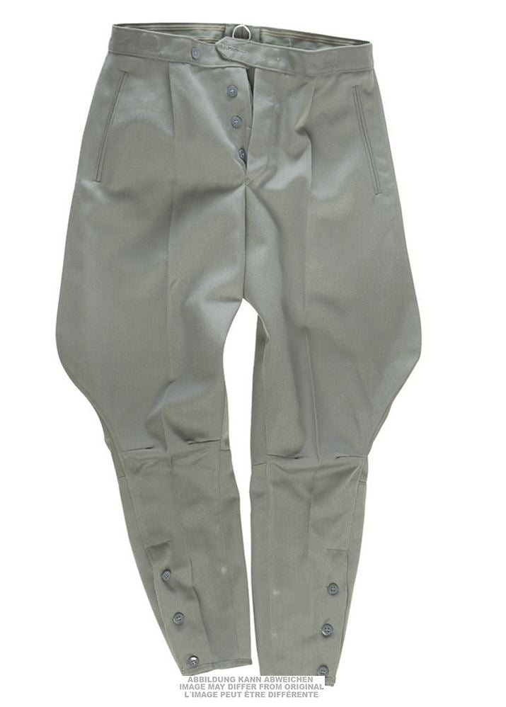 East German Army Surplus Grey Breeches Trousers UNISSUED