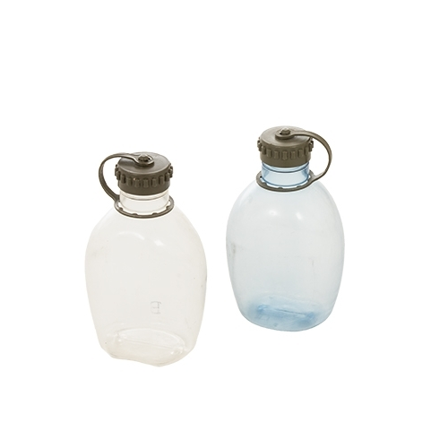 Austrian army surplus clear transparent field canteen flask
