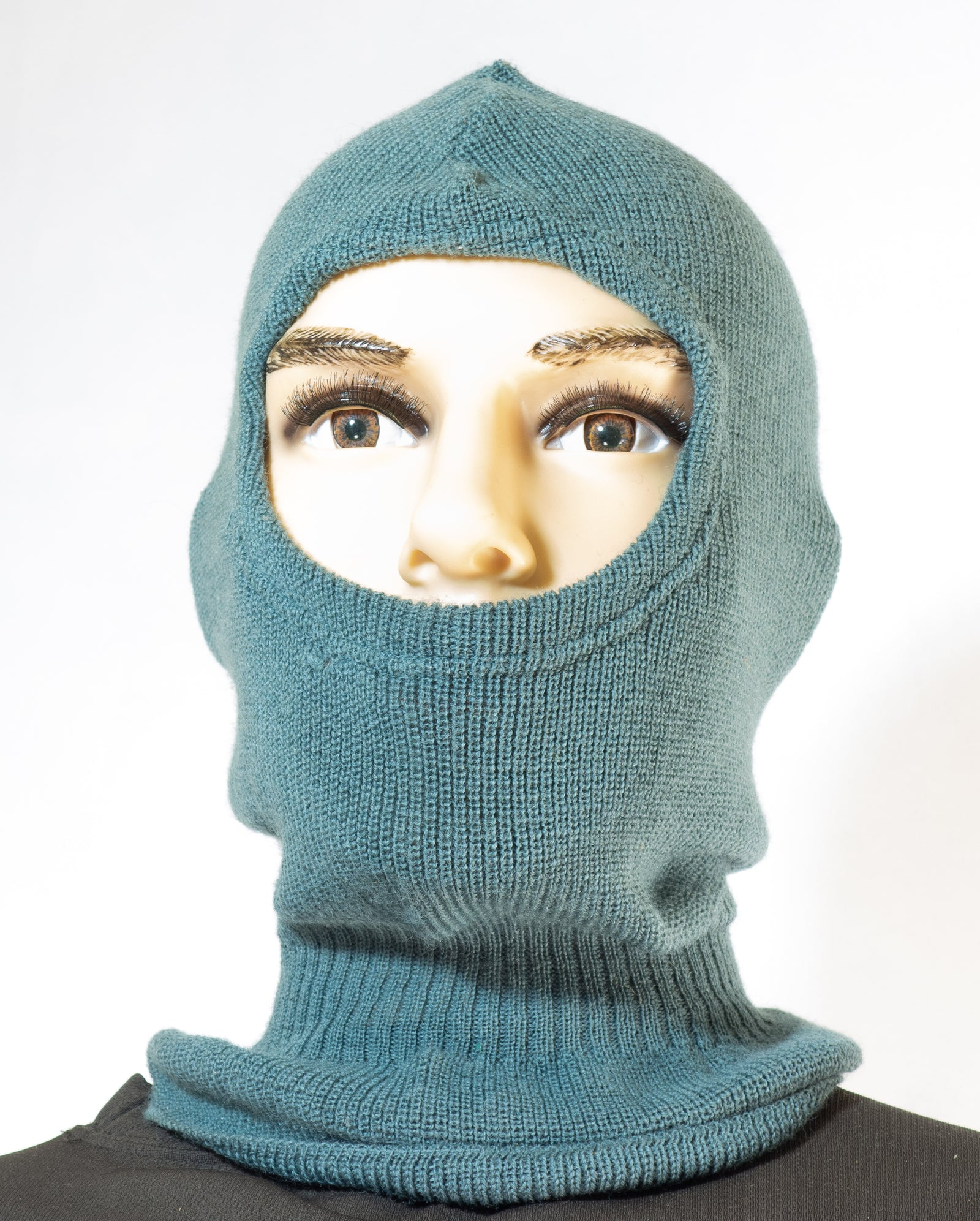 Swiss army surplus WOOL grey NEW OLD stock balaclava