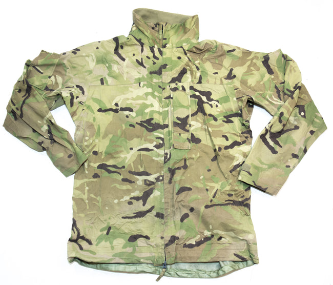 British Army Surplus MVP MTP Camouflage Lightweight Waterproof Jacket