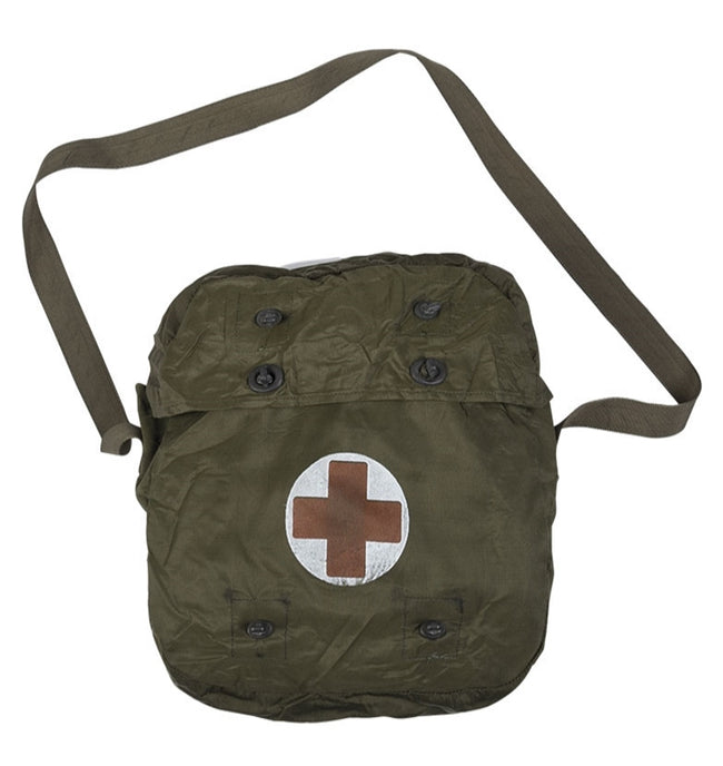 NEW/UNISSUED Dutch army surplus waterproof medic first aid bag