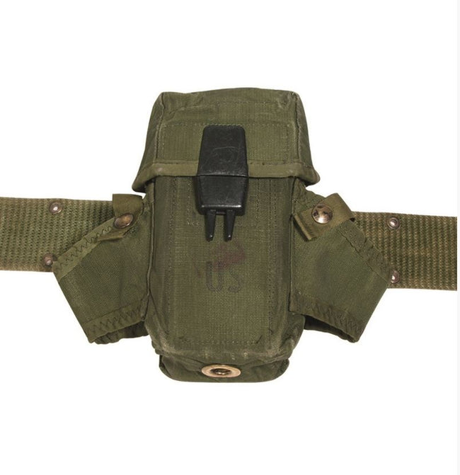American US Army Surplus LC-2 OD Magazine Ammo Pouch Olive Green