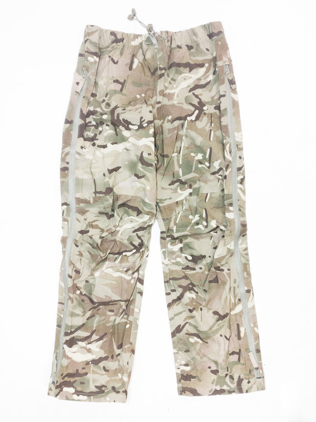 British Army Surplus MVP MTP Camouflage Lightweight Waterproof trousers