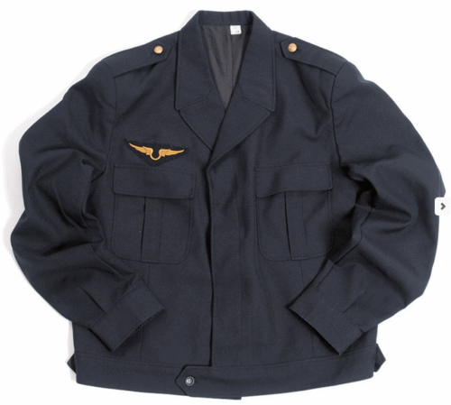 French ike style jacket