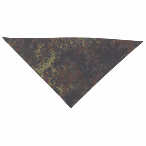 Original German army surplus flecktarn bandana scarf