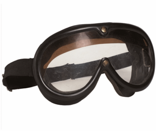 German army surplus black safety protective goggles