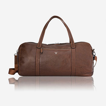 Brando Leather Brown leather duffel bag fathers day blog