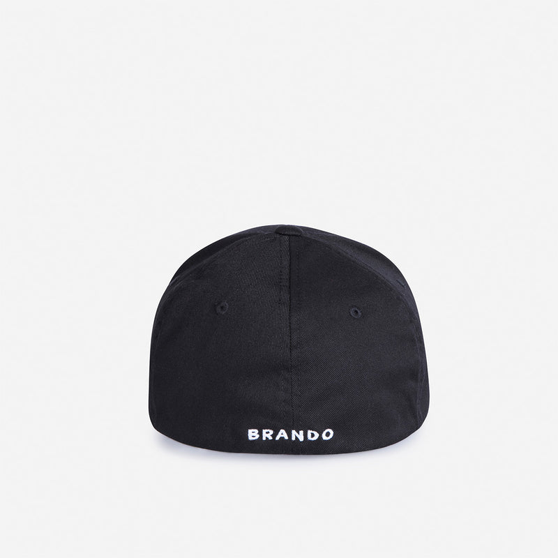 Classic Cap - Black - Leather Caps | Brando Leather South Africa