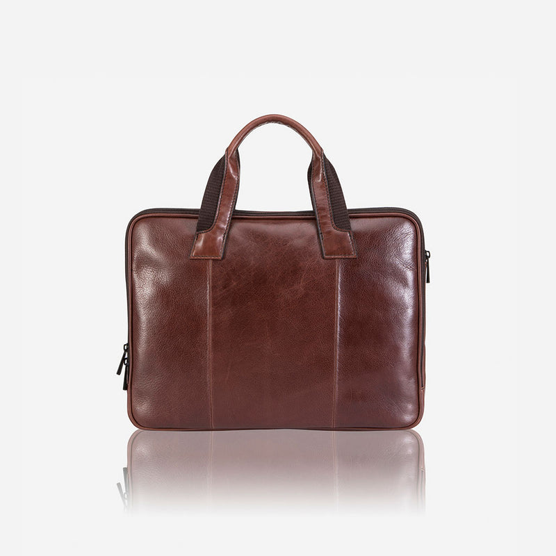 "13"" Compact Laptop Bag - Leather Laptop Bag 