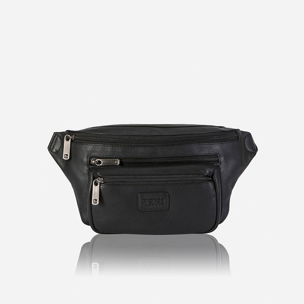 The Albaron Waist Bag Black