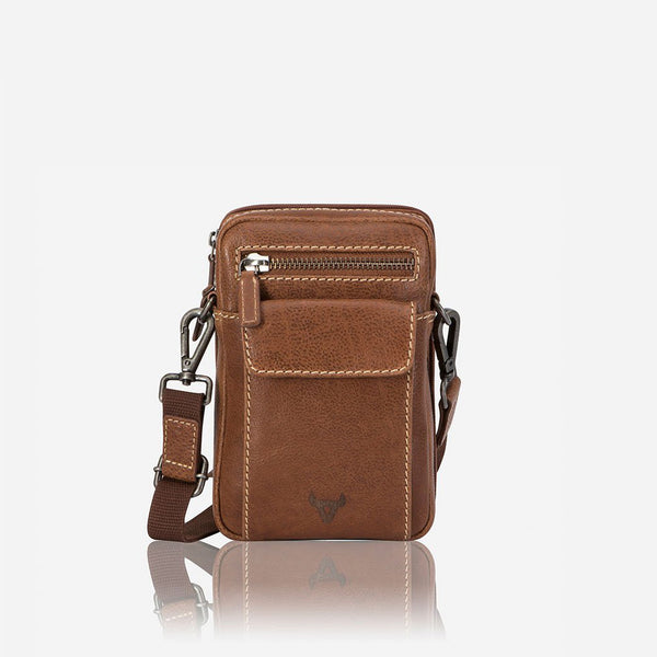 Edge Crossbody Travel Bag - Leather Crossbody Bag | Brando Leather South Africa