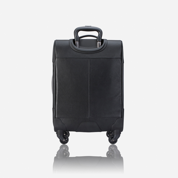 Authentic Leather Cabin Bag, Black - Travel Bag | Brando Leather South Africa