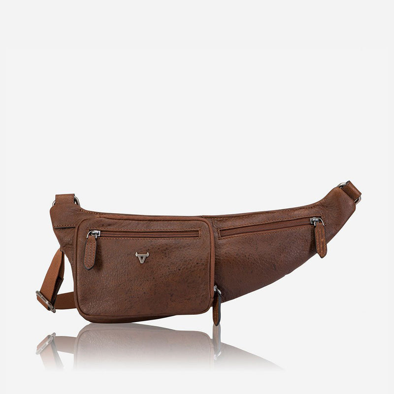 Front Crossover Bag - Leather Waist Bag | Brando Leather South Africa