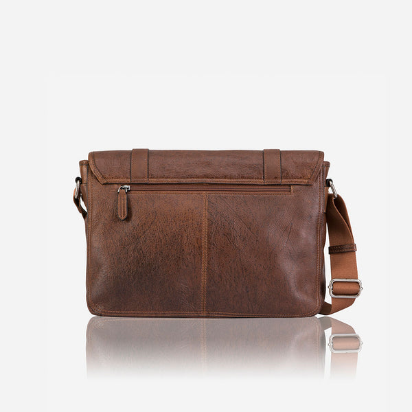 "13"" Messenger Bag - Leather Messenger Bag 