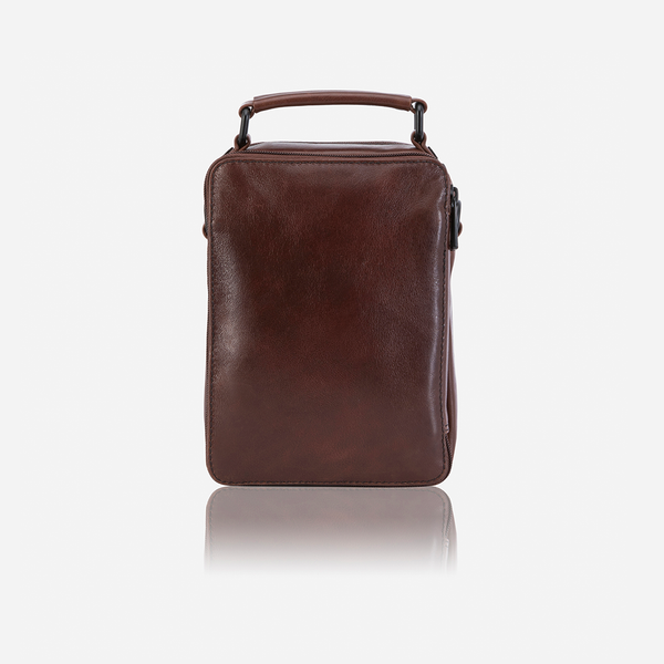 Gent's Bag With Top Handle - Crossbody Bag | Brando Leather South Africa