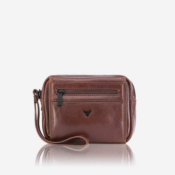 Gent's Bag With Hand Strap - Leather Gent's Bag | Brando Leather South Africa