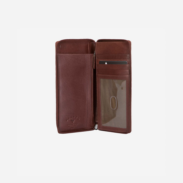 Executive Leather Pocketbook - Purse | Brando Leather South Africa