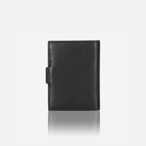 Slim Leather Card Holder, Black - Leather Wallet | Brando Leather South Africa