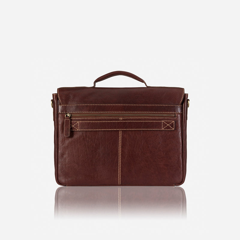 Asher Briefcase - Leather Business Bag | Brando Leather South Africa