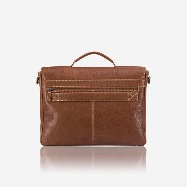 Vintage Styled Classic Briefcase - Laptop Bag | Brando Leather South Africa