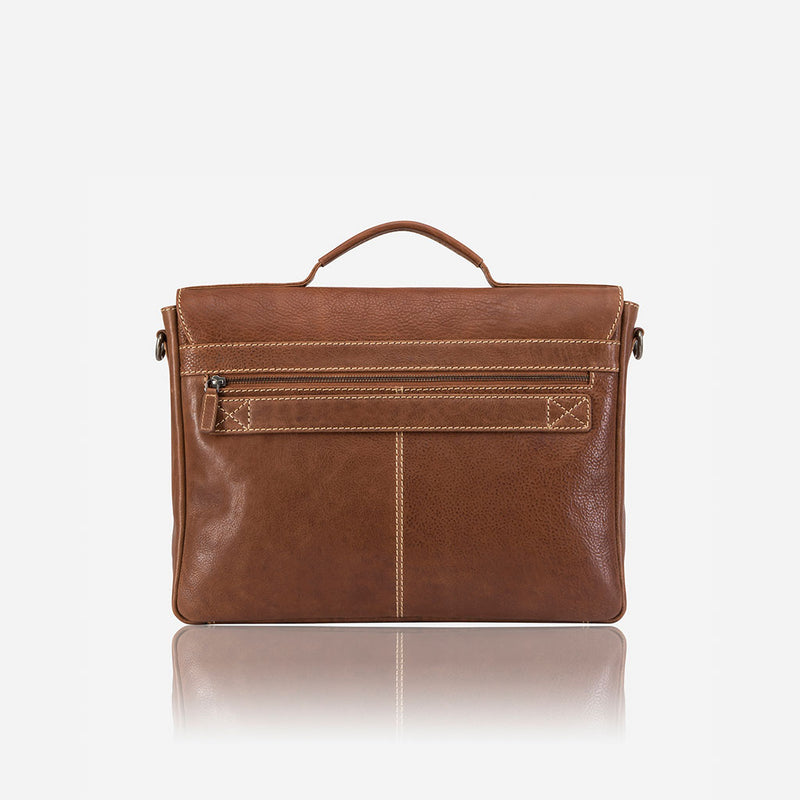 Vintage Styled Classic Briefcase - Leather Laptop Bag | Brando Leather South Africa