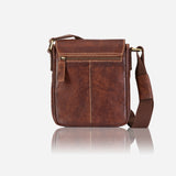 Asher Leather Slim Crossbody Bag - Leather Crossbody Bag | Brando Leather South Africa