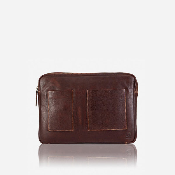 Asher Padded Laptop Bag - Leather Laptop Bag | Brando Leather South Africa