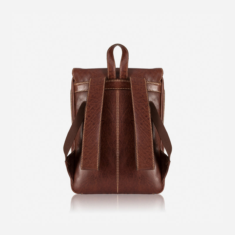 Asher Laptop Leather Backpack - Leather Backpacks | Brando Leather South Africa
