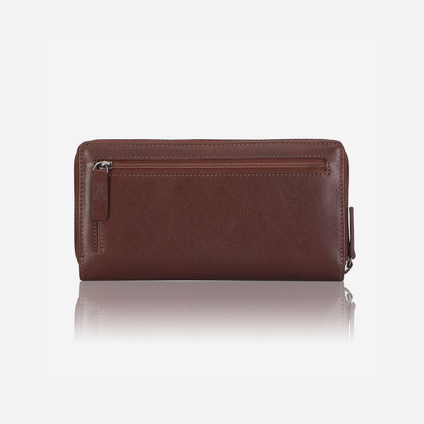 Multi Card Purse With Zip & Tab - Purse | Brando Leather South Africa