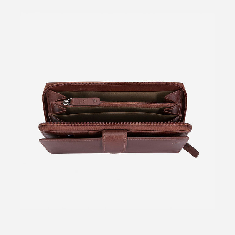 Multi Card Purse With Zip & Tab - Leather Purse | Brando Leather South Africa