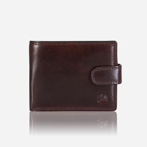 Multi Card Leather Wallet, Black