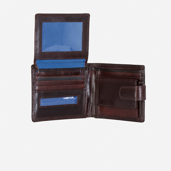 Multi Card Leather Wallet, Black - Wallet | Brando Leather South Africa