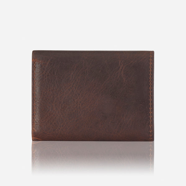 Compact Leather Wallet, Brown - Leather Wallet | Brando Leather South Africa