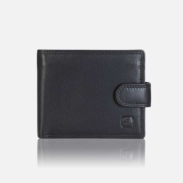 Classic Executive Leather Wallet, Black/Brown