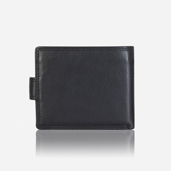 Classic Executive Leather Wallet, Black/Brown - Wallet | Brando Leather South Africa