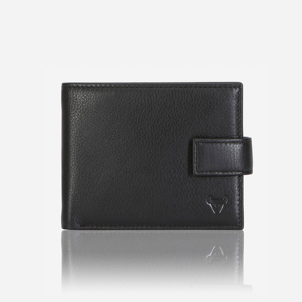 Essential Leather Executive Wallet, Black