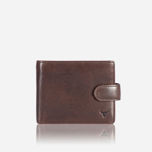 Cooper X Essential Executive Wallet, Brown - Leather Wallet | Brando Leather South Africa