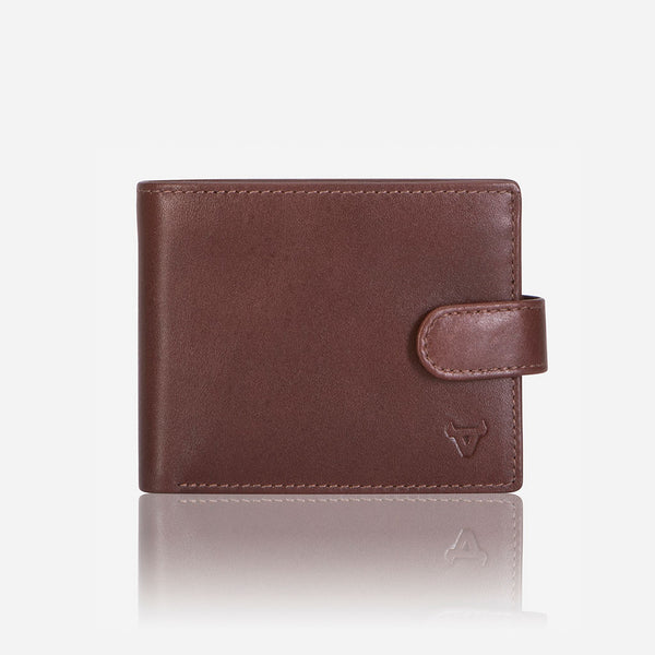 Essential Leather Executive Wallet, Brown