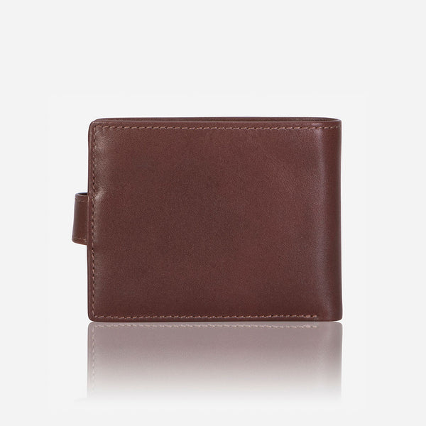 Essential Leather Executive Wallet, Brown - Wallet | Brando Leather South Africa