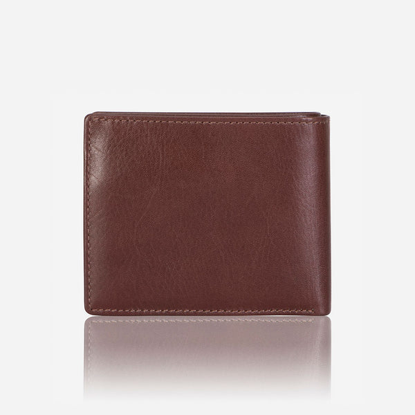 Classic Billfold Men's Leather Wallet, Brown
