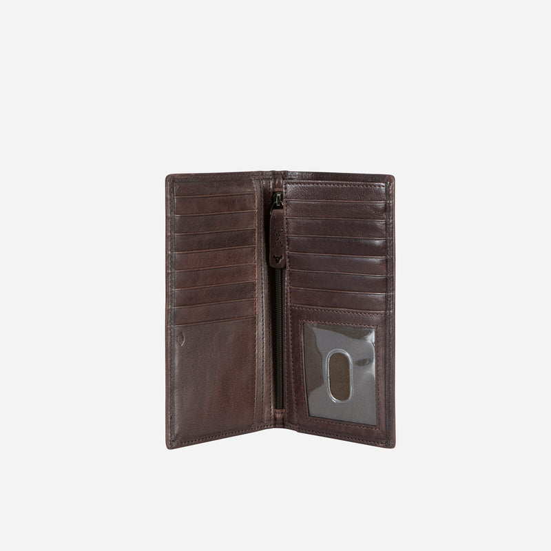 Cooper X Leather Pocketbook, Brown - Leather Wallet | Brando Leather South Africa