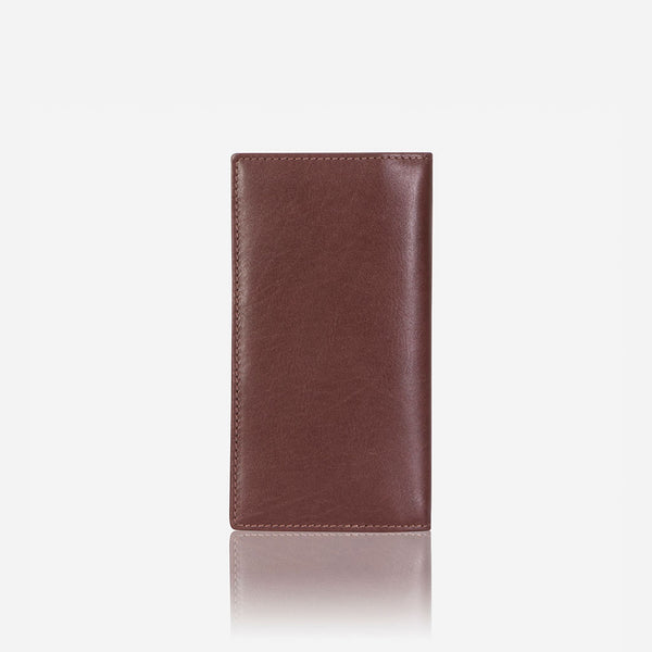 Upright Leather Pocketbook, Brown - Wallet | Brando Leather South Africa