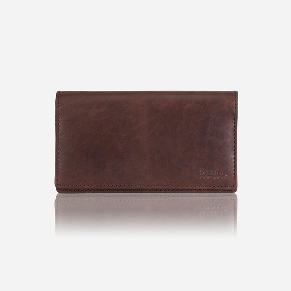 Silviano Raw Edge Purse - Leather Purse | Brando Leather South Africa