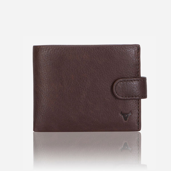 Multi Card Impala Leather Wallet, Brown - Wallet | Brando Leather South Africa