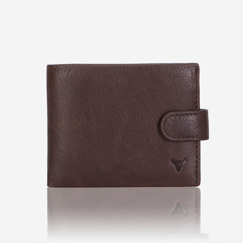 Multi Card Impala Leather Wallet, Brown - Leather Wallet | Brando Leather South Africa