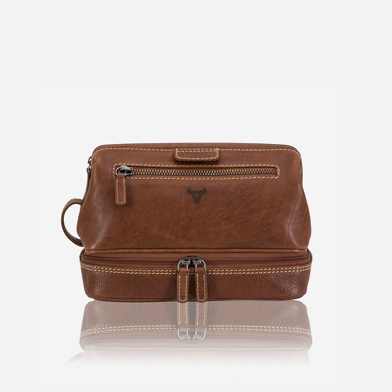 Genuine Leather Wash Bag - Leather Wash Bag | Brando Leather South Africa